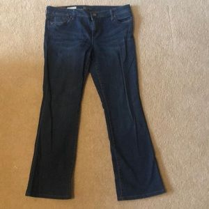 Kut from the Kloth Farrah baby boot cut jeans 12